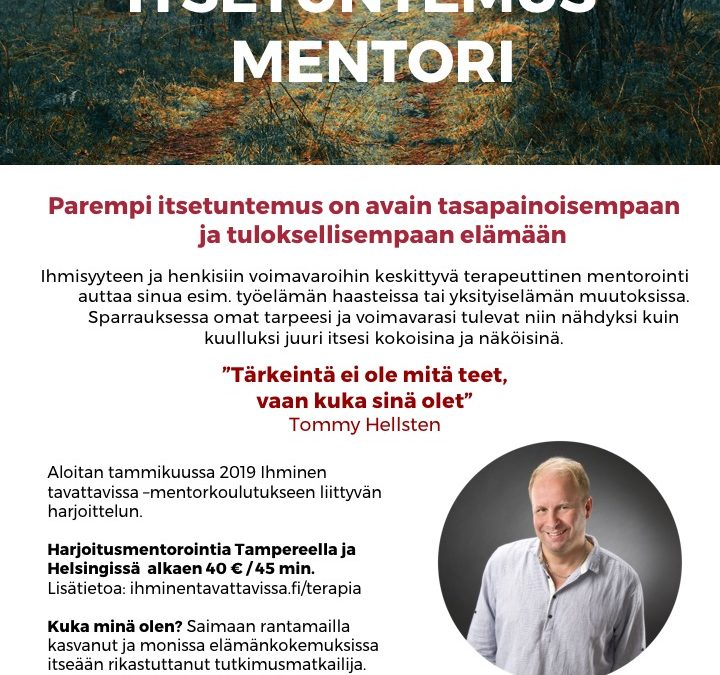 Mentorointiharjoittelua Tampereella ja Helsingissä
